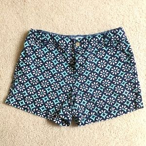 Old navy patterned shorts/ girls 12